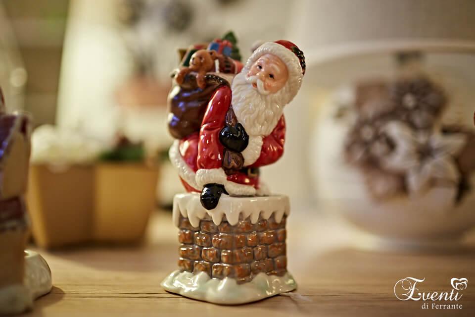 Babbo Natale In porcellana
