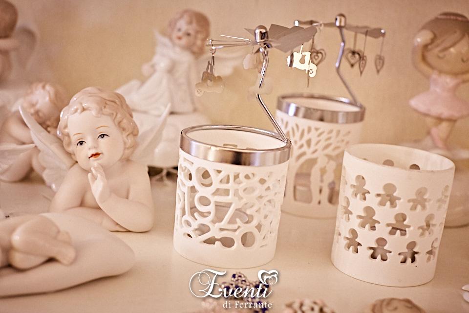 Giostrine portacandela in porcellana - Ilary Queen
