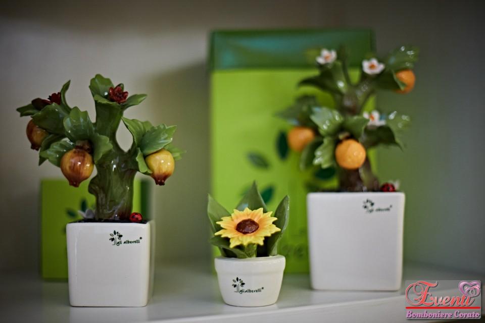 Profumatori bonsai melograno, profumina girasole, bonsai arancio