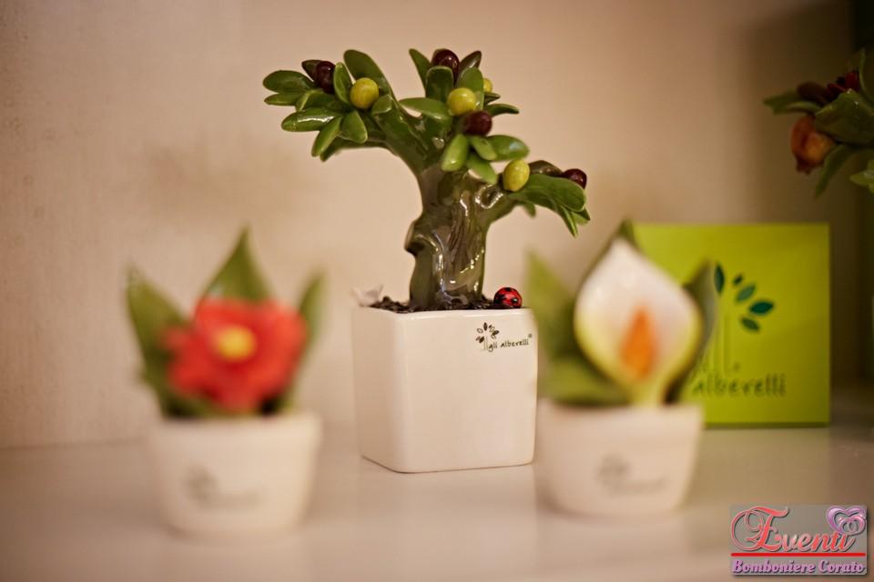 """Profumatore """"bonsai ulivo"""" in capodimonte"""