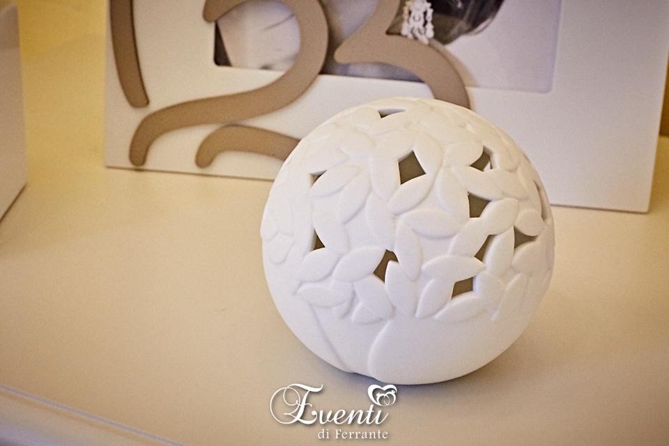 Lampada led in porcellana con albero della vita - Ilary Queen