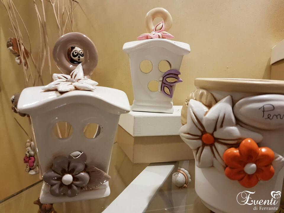 Lanterne portapenne in terracotta - Ceramiche Artistiche Velier