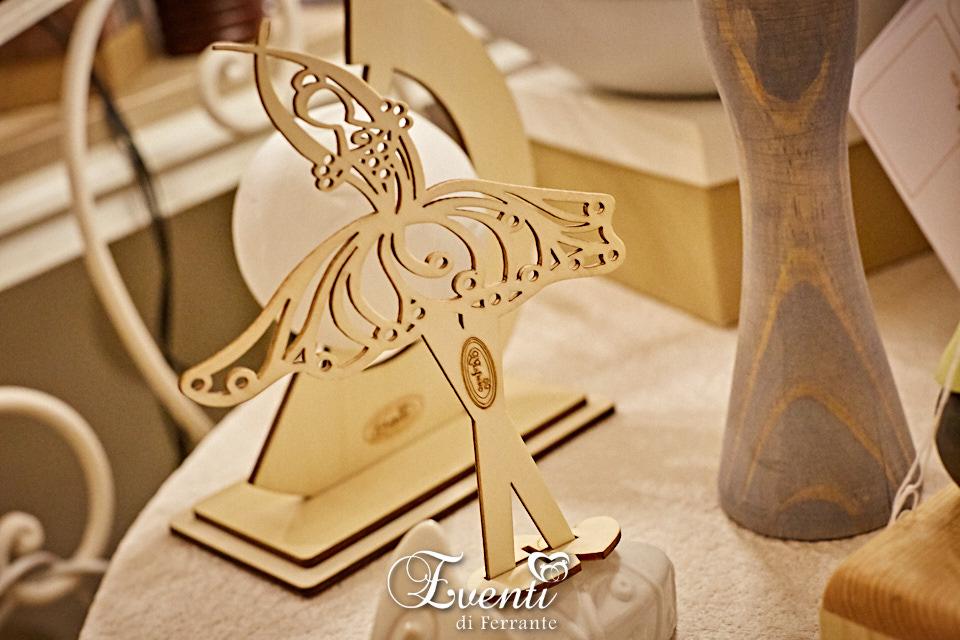 Profumatore ballerina in legno e porcellana - L'Infinito Bomboniere