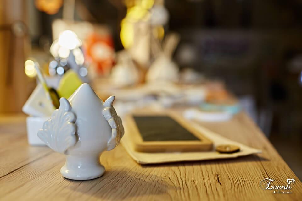 Pumo in ceramica linea artigianale