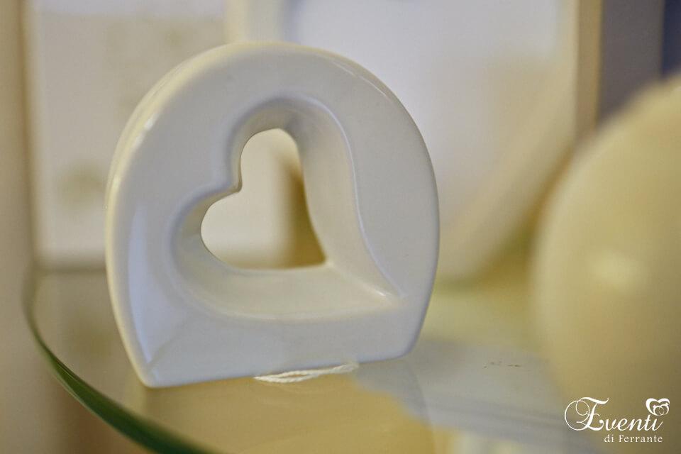 """Sale e pepe linea """"cuore"""" in porcellana - ILARY QUEEN"""
