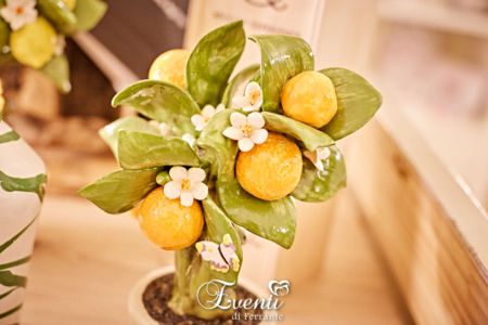 Albero con arance profumatore in capodimonte medio - Gli Alberelli