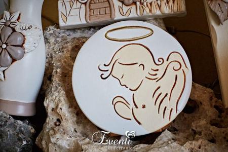 Angioletto in terracotta da appoggio - Ceramiche Artistiche Velier