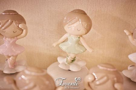 Ballerina carillon colorata in porcellana - Ilary Queen