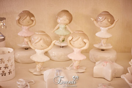 Ballerine carillon colorate in porcellana - Ilary Queen