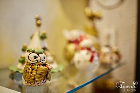 """Gufetto con """"Coccinella"""" in terracotta - Ceramiche Artistiche Velier"""