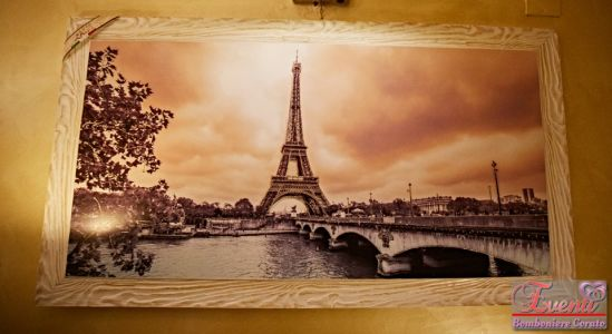 Quadro artigianale soggetto Parigi
