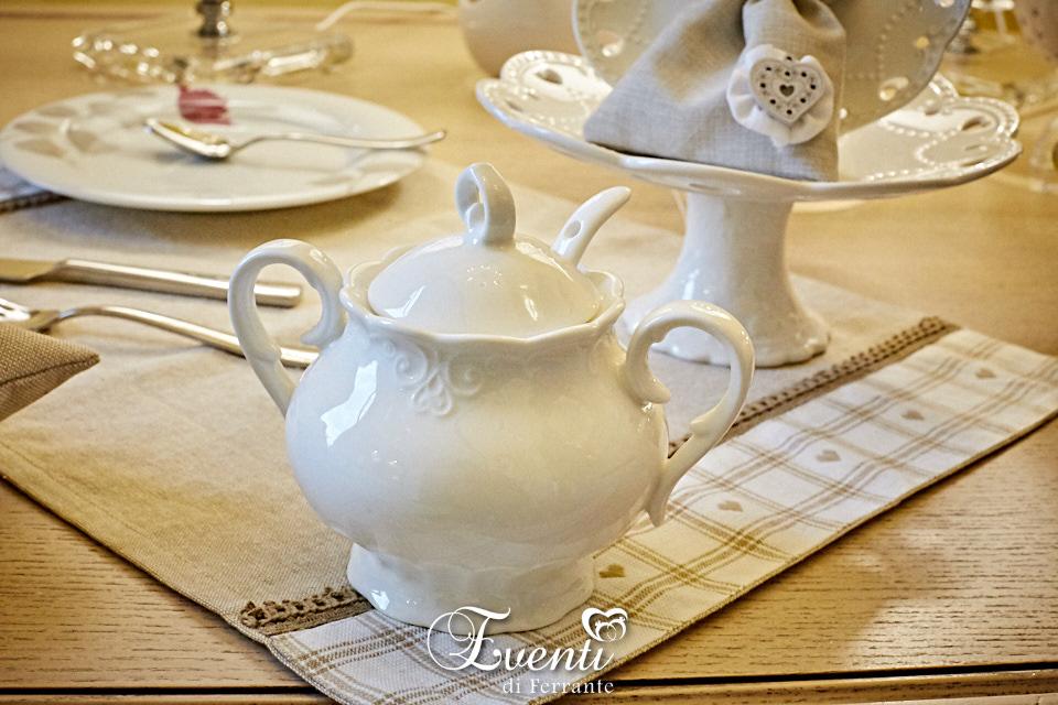 Zuccheriera in porcellana - Ilary Queen